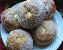 Starch additive for vanilla buns