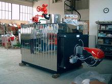 Boilers at smoke pipes at low pressure