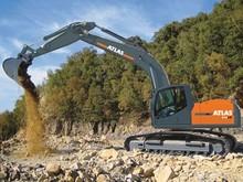 Atlas 240 LC crawler excavator
