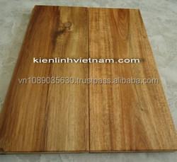 Acacia Solid Wood Floor Uni 18 x 90 x 450 Mm Teak - Walnut Color