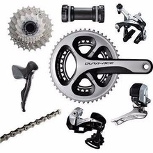 Shimano Dura-Ace 9070 Di2 Groupset without Power Kit One Color, 170, 50-34,braz,11-28