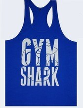 Royal Blue Color Tank top best Quality Gym Singlet