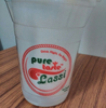 Customized Logos Are Accepted Disposable Printed Glass And Cups