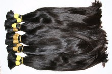 new product high quality straight bulk hair factory price