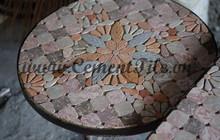 Encaustic cement tiles CTS Mosaic Table 7