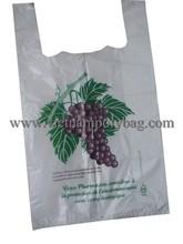 Plastic singlet bag Tshirt for shopping