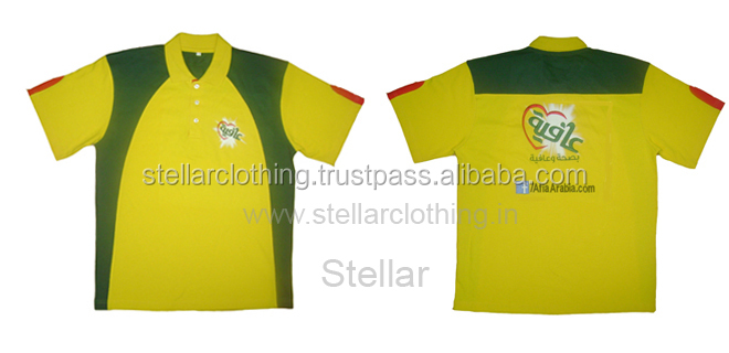 80% cotton 20% polyester Promotional Polo T-shirt -AfiaArabia.com with FB - UAE -.jpg