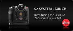 SKYPE=-tech7ltd- Free shipping fee for Leica S2 37.5 MP Digital SLR Camera - Black - Body Only