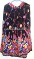hermosa más caliente de la venta de flores de impresión de algodón faldas de verano casual larga falda boho