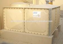 Grp/panel de frp tipo tanques atornillados/frp tanques de agua/tanques de agua/de fuego de los tanques de agua