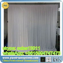 Protable pipe and drape systems for photo booth