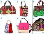 african textile print ladies bags