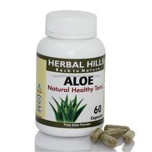 Aloevera healthcare supplement capsules