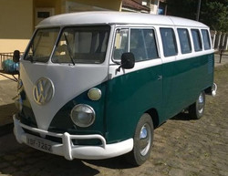 Classic Car VW Bus T1 Kombi-1974-#090 used car transporter volkswagen