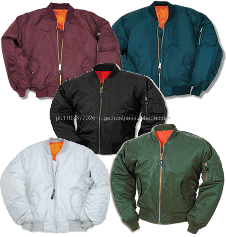 Similiar Wholesale MA 1 Flight Jacket Keywords