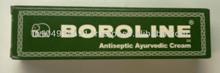 anti-séptico boroline creme ayurvédicos:: cortes, feridas, lábios:: anti-séptico