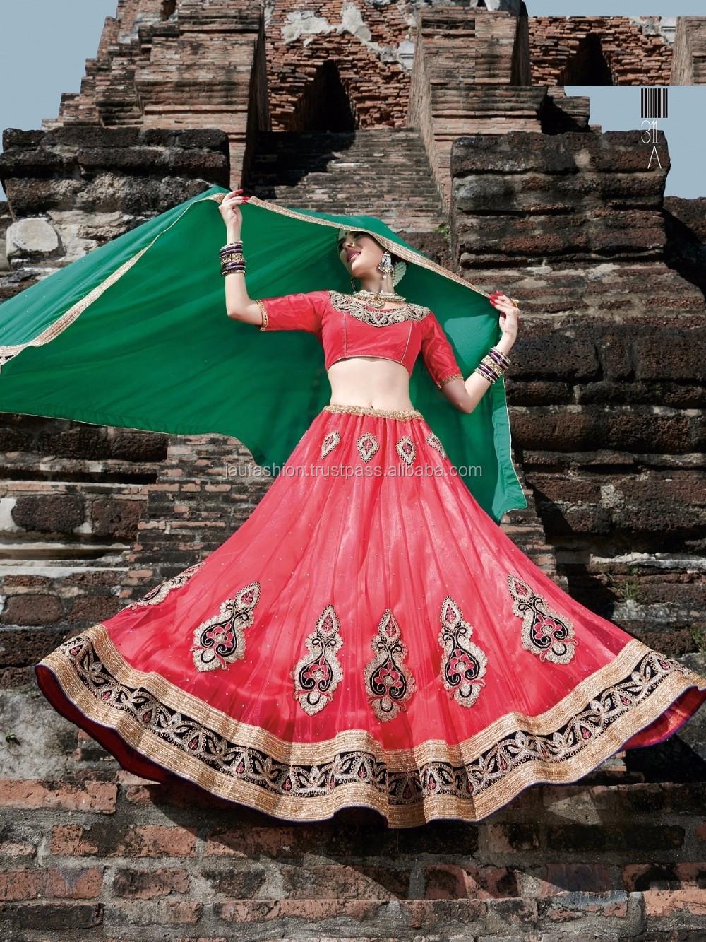 Exclusivas Lehenga Boda / Lenghas Boda India Bollywood Moda Nupcial ...