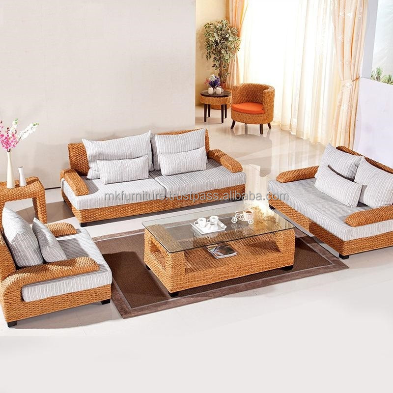 Rattan living room furniture for Wicker living room furniture