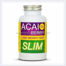 Low Price Extra Strong Acai Berry Slim 1000mg per Capsule 1 Month Supply