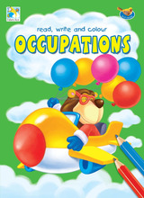 Activity Books - FA4016E Read, Write and Colour (Occupations)
