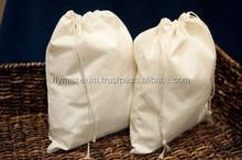 Custom promotional muslin drawstring bag drawstring shopping bag drawstring packing bag