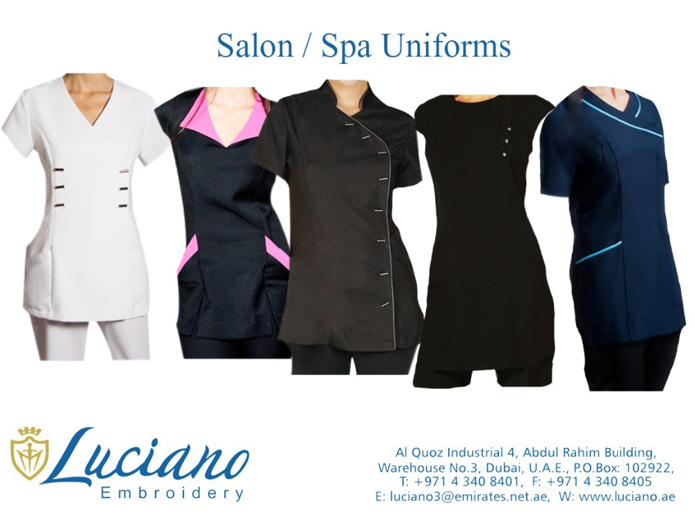 Salon spa uniforms buy spa beauty salon uniform for Spa uniform indonesia
