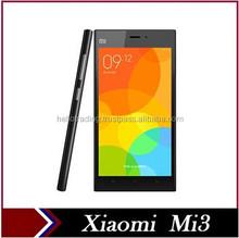 """Original Xiaomi Mi3 M3 Qualcomm Quad Core MIUI V6 WCDMA 3G Android Smartphone Mobile Phones 13MP 2GB RAM 16GB 64GB ROM 5"""" IPS"""