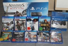 Authentic Free shipping Sale for Sony Playstation 4 ,PS4 + 10 GAMES + 2 EXTRA CONTROLLERS - NEW , WARRANTY , ORIGINAL