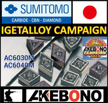 AC6030M / AC6040M High precision and high-performance Sumitomo cutting tools insert