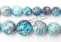 Rain Flower Stone Bead Round 10-20mm Sold Per Approx 16 Inch Strand