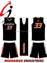 Customized basketball jersey