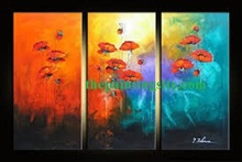 100 Handmade Beautiful Natural Scenery Oil Painting on Canvas