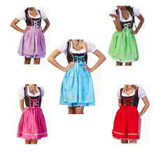 FABULOUS BRANDED REAL COTTON DIRNDL DRESS / ECO PLUS TRACHTEN DIRNDL DRESS FOR CUTE GIRL