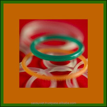 Silicone and rubber orings