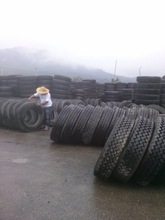 Repairable & used tires Casings, for truck Tires