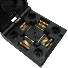 Factory Supply QFP-64-0.5-JRS Universal QFP64 IC Programmer Test Socket Adapter 0.5mm Pitch 64 Pin Top Quality
