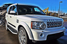 USED CARS - LAND ROVER LR4 HSE LUX (LHD 10035 GASOLINE)