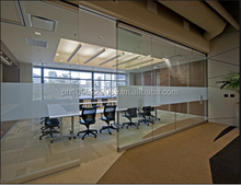 Glass Partition (frame less or with frame)