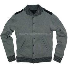 Custom varsity man bomber jacket,woman fleece softshell winter jackets from wholesale clothing market