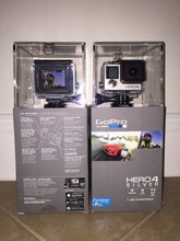 NEW GoPro HD HERO 4 - Go Pro HD HERO 4_4K 30FPS Action Camcorder BLACK edition 12MP Camera remote WiFi Bluetooth GoPro HERO