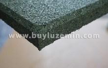 Rubber Flooring Tile - Red Fleck, Rubber Tile Floor