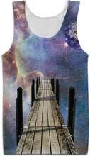 100% Polyester Dye-Sublimated Tank Tops With Multi Colored Designs, Make Your Own Designed Tank Tops Possible At BERG!!!