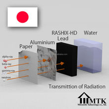 Lead free effective alpha radiation shielding ceramics with anti chemical properties