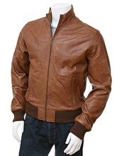 Brown Fashion Jackets Men