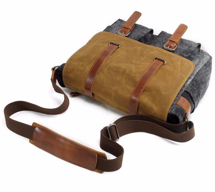 waxed canvas DSLR camera messenger bag  (11).jpg