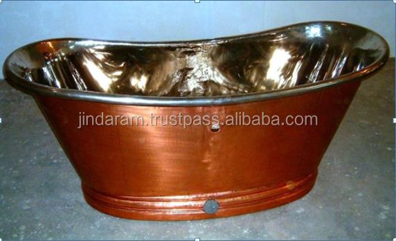 Classy Copper Bath Tub.png
