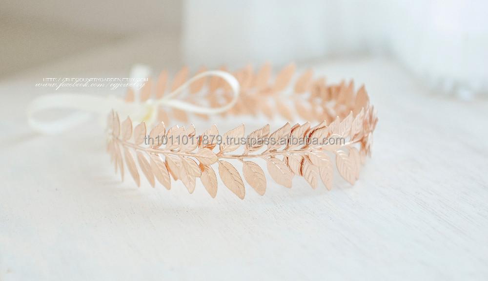 Head Wreath Greek Greek Leaves Wreath Crown