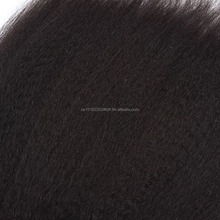 machine made wefts single drawn natural color Italian yaki 100g per bags tangle free no shedding 16 inches Lovely Rita Hair