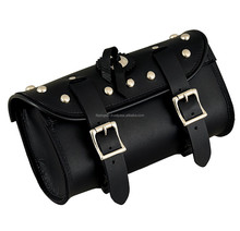 Top favorite Motorcycle buckle Tool bag for all types of bike and choppers. Top Quality Leather Motorcycle bag