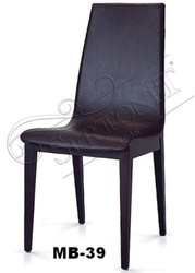 Black Leather Waiting Chairs